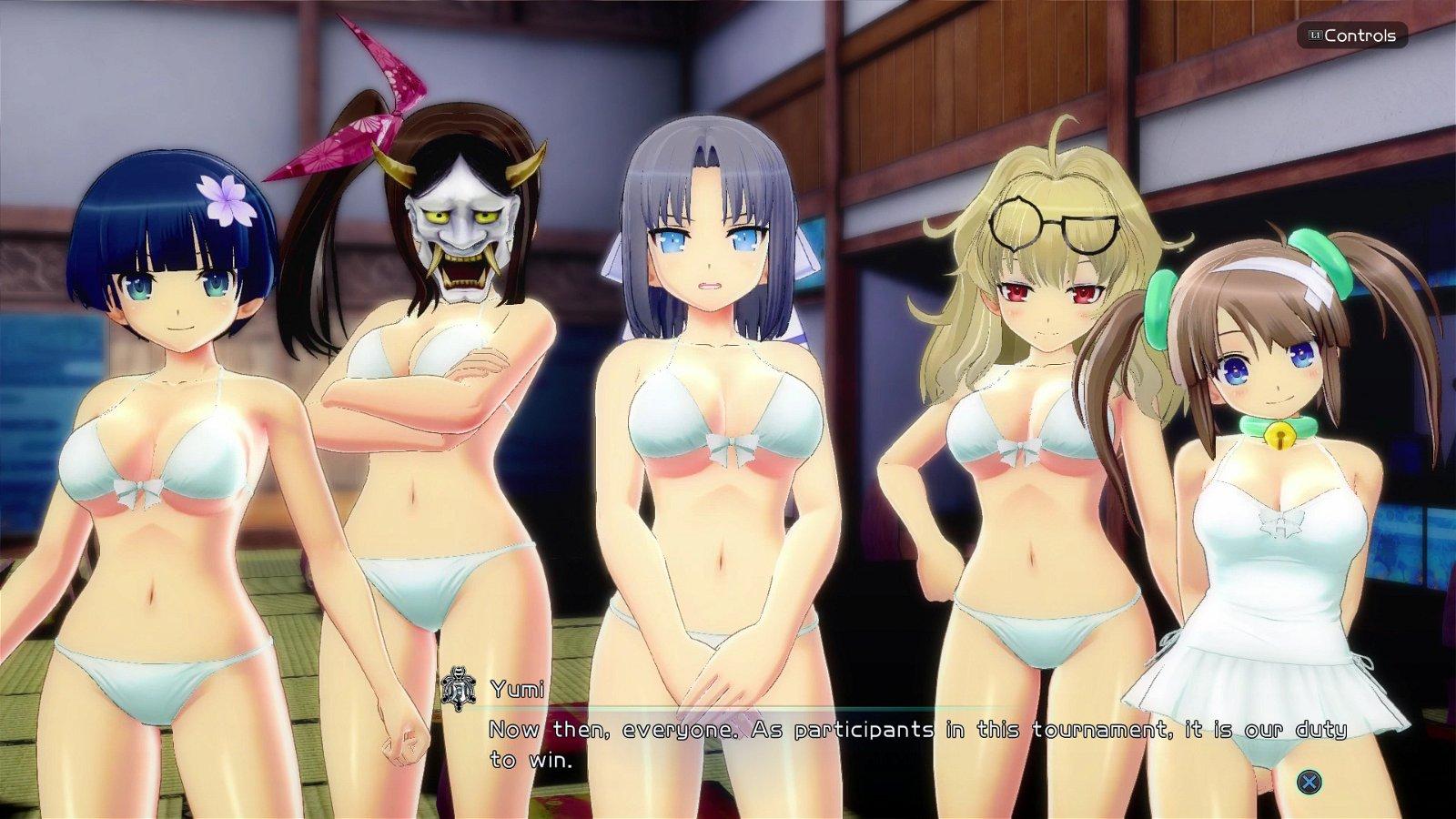 Title: Senran Kagura: Peach Beach Splash (Playstation 4) Review – Soaking Wet Ninjas 3