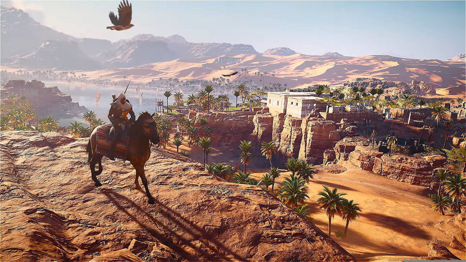 Assassin S Creed Origins Review Ancient Egypt Brought
