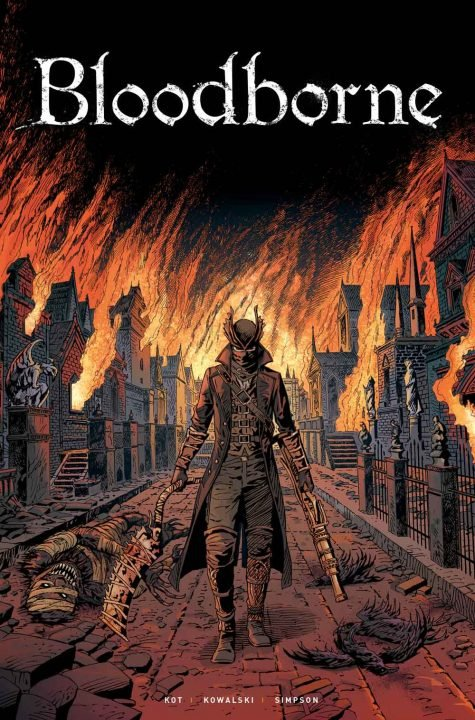 Bloodborne Coming Incoming from Titan Comics