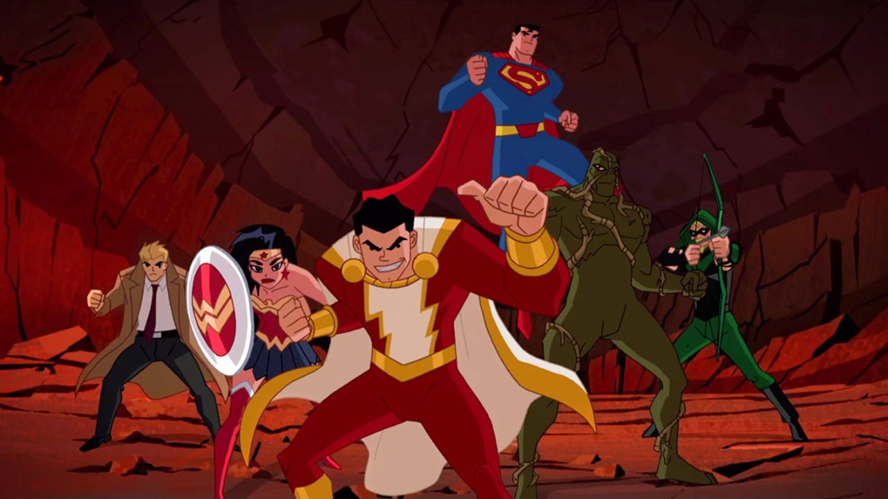 DC Justice League Action: Superpowers Unite! Blu-Ray Giveaway 1