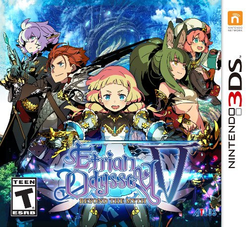 Etrian Odyssey V: Beyond the Myth (3DS) Review - Challenging Cartography 1