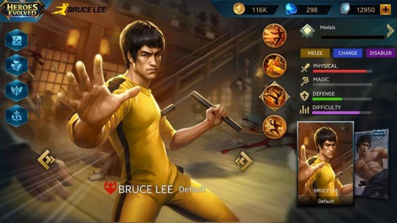 Mobile Gaming News: Bruce Lee Makes Moba Debut In Heroes Evolved