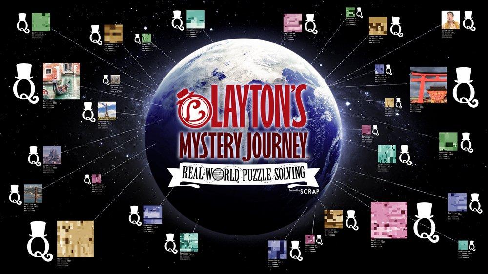 New Professor Layton Game Slated for Summer 2018