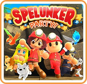 Spelunker Party! (Switch) Review - Explore Caves With Your Friends and Their Pets