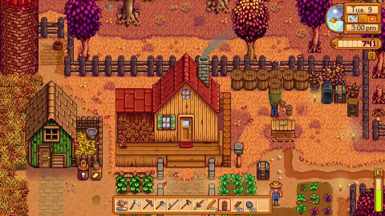 Stardew Valley Surprise Thursday October 5th Nintendo Switch Release