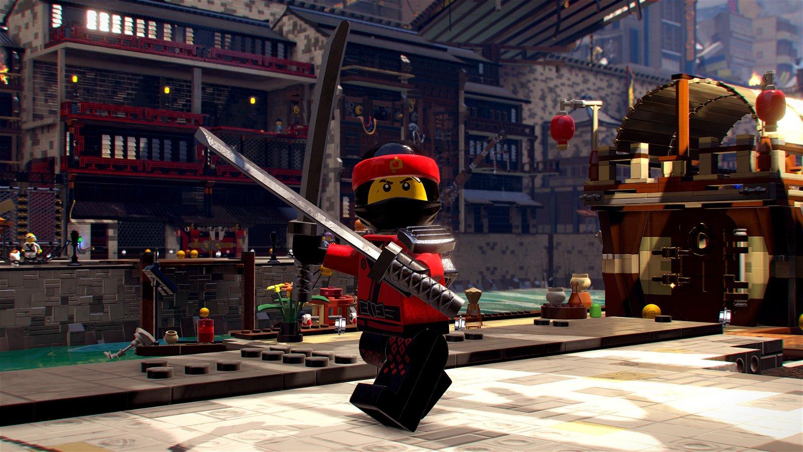 The lego ninjago movie video game review lacking a ninja - Lego ninjago 4 ...