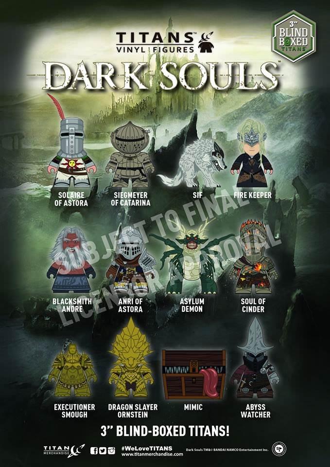 Dark Souls 3 Line of Vinyl Figures Coming April 2018