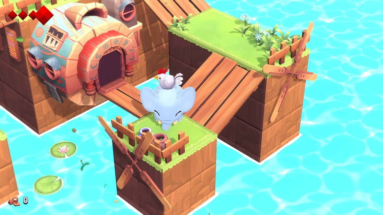 Yono and the Celestial Elephants (Switch) Review: Pretty Pachyderm Packs Palty 5