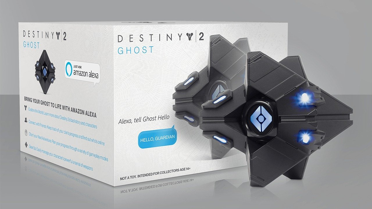 Destiny 2's Ghost Gets an Amazon Alexa Skill and Replica Speaker