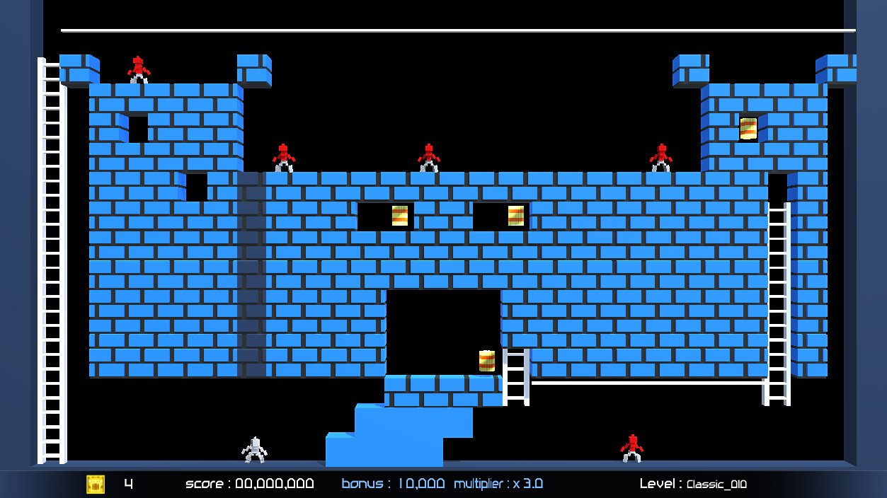 Lode Runner Legacy (PC) Review: A Legacy Secured - CGMagazine