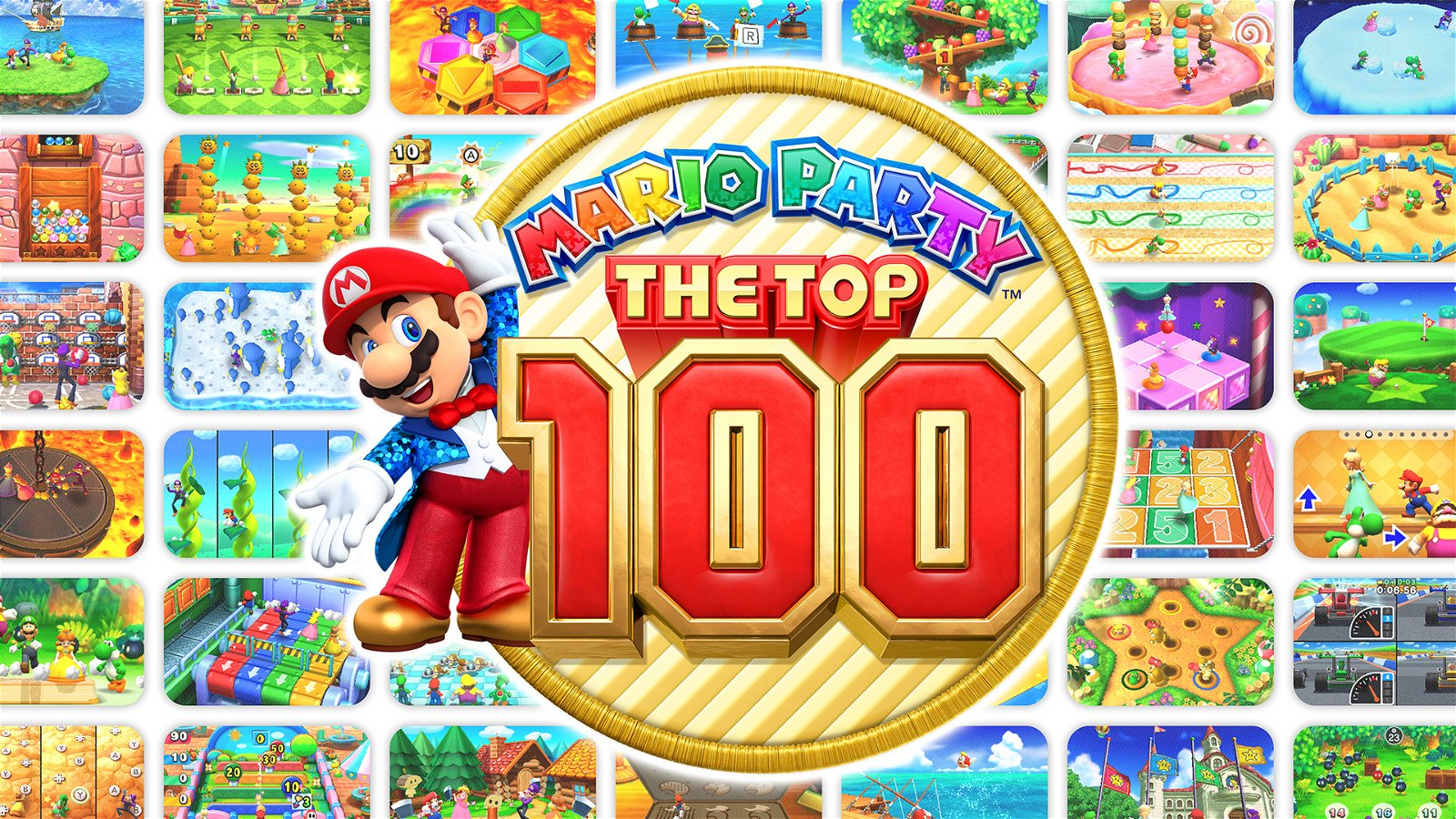 Mario Party: The Top 100 (3DS) Review - Slumber Party 6