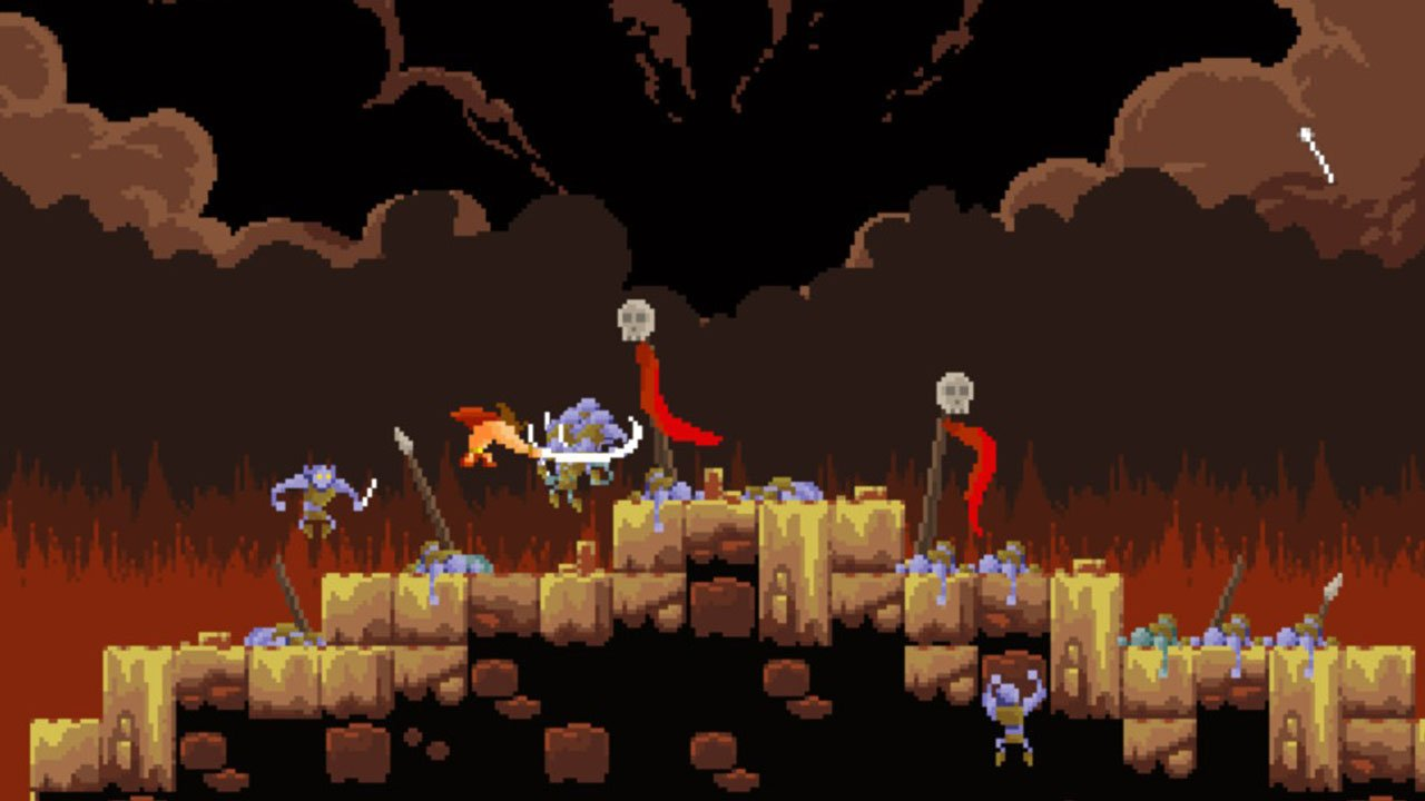 Tiny Barbarian DX (Switch) Review - Action platformer of the year? 4