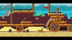 Tiny Barbarian DX (Switch) Review - Action platformer of the year? 8