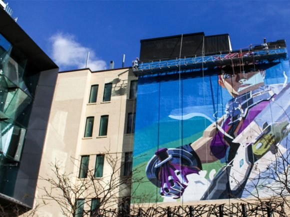 Zarya Invades Downtown Toronto to Promote Hero Diversity