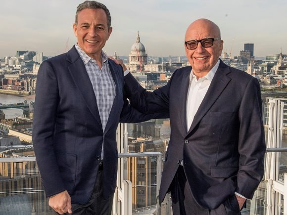 Disney To Buy 21st Century Fox In $52 Billion Deal