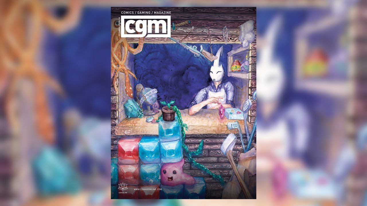 CGMagazine November 2017: Behind the Minds of the New Colossus 2