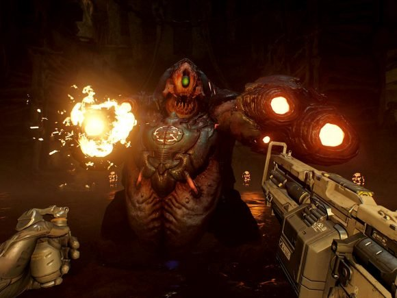 Doom VFR Review - A Compromised Bloody Affair 5