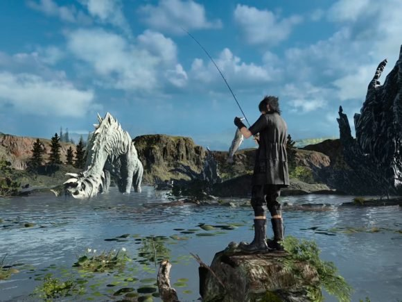 Monster of the Deep: Final Fantasy XV (PSVR) Review: Not-So-Deep Fishing Sim