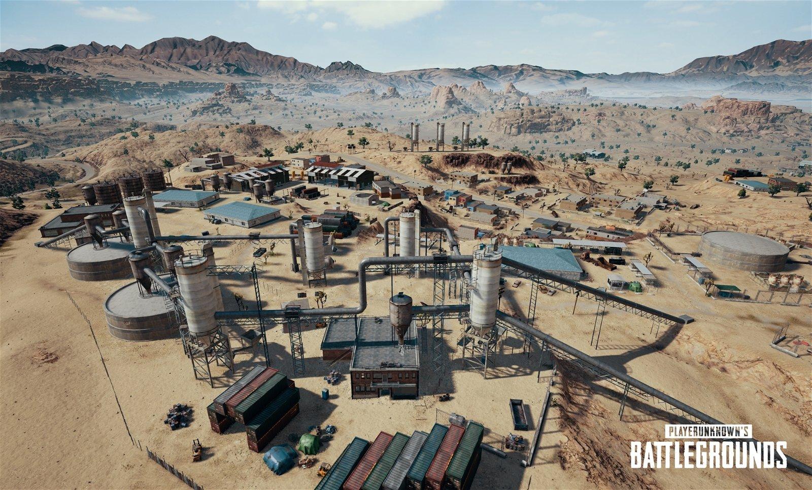 PUBG Unveils New Desert Map Ahead of 1.0 Release