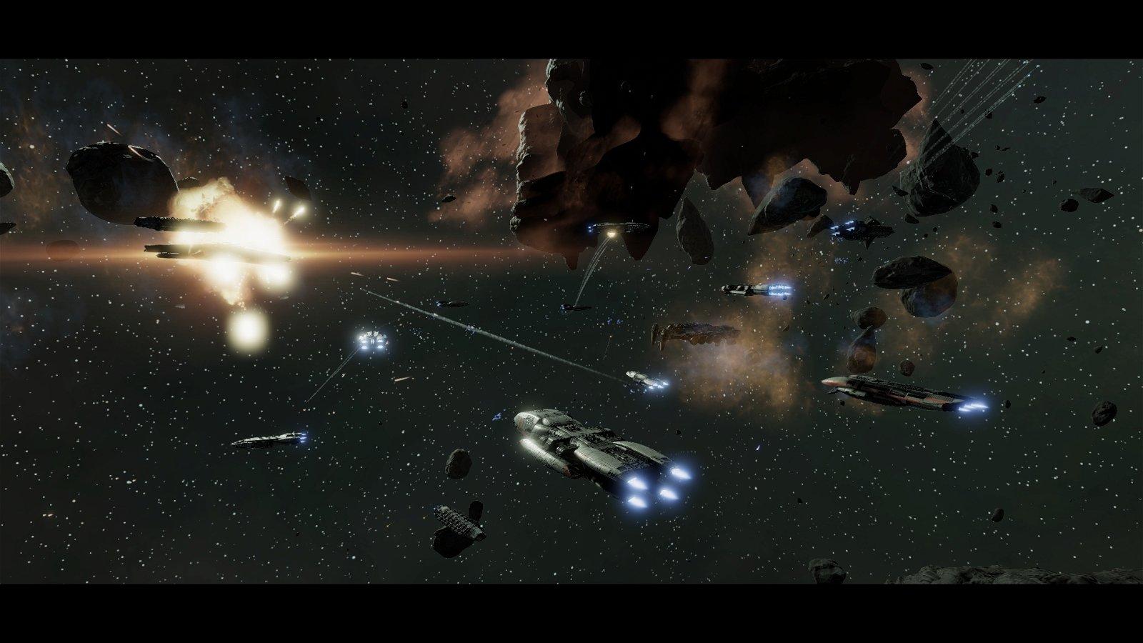 Battles in Vacuum: Galactica vs. Enterprise-D 4