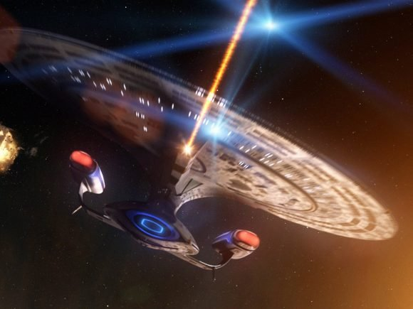 Battles in Vacuum: Galactica vs. Enterprise-D