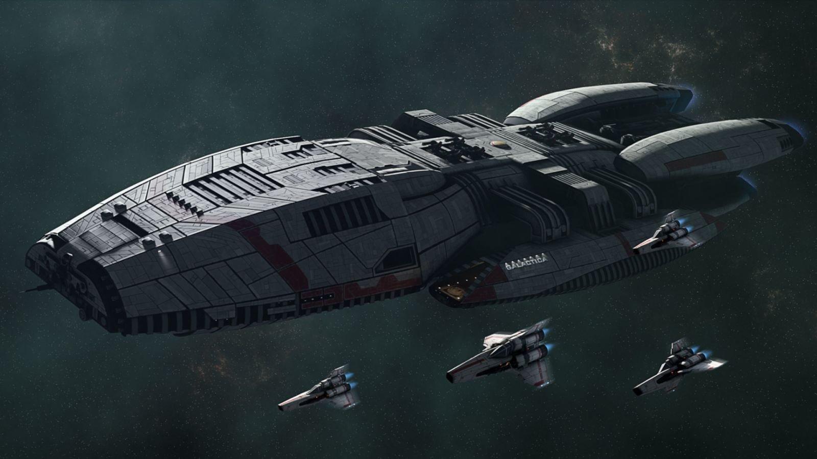 Battles In Vacuum: Galactica Vs. Enterprise-D 6