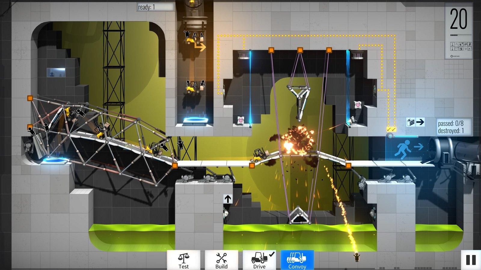 Bridge Constructor Portal Review 2