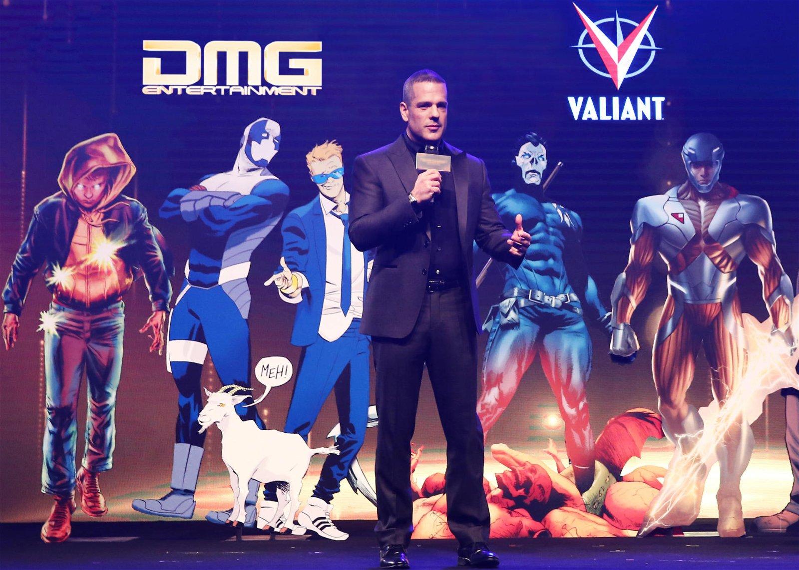 DMG Entertainment Acquires Valiant Entertainment 1