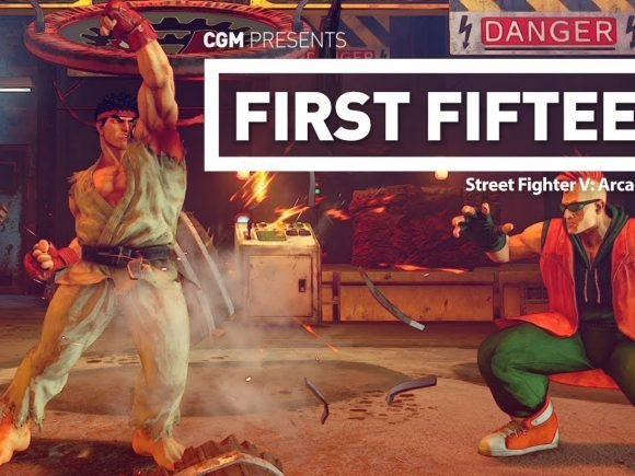 First Fifteen: Street Fighter V: Arcade Edition 1