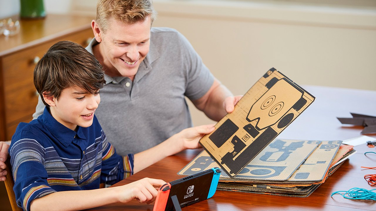 Nintendo officially reveals Nintendo Labo 1