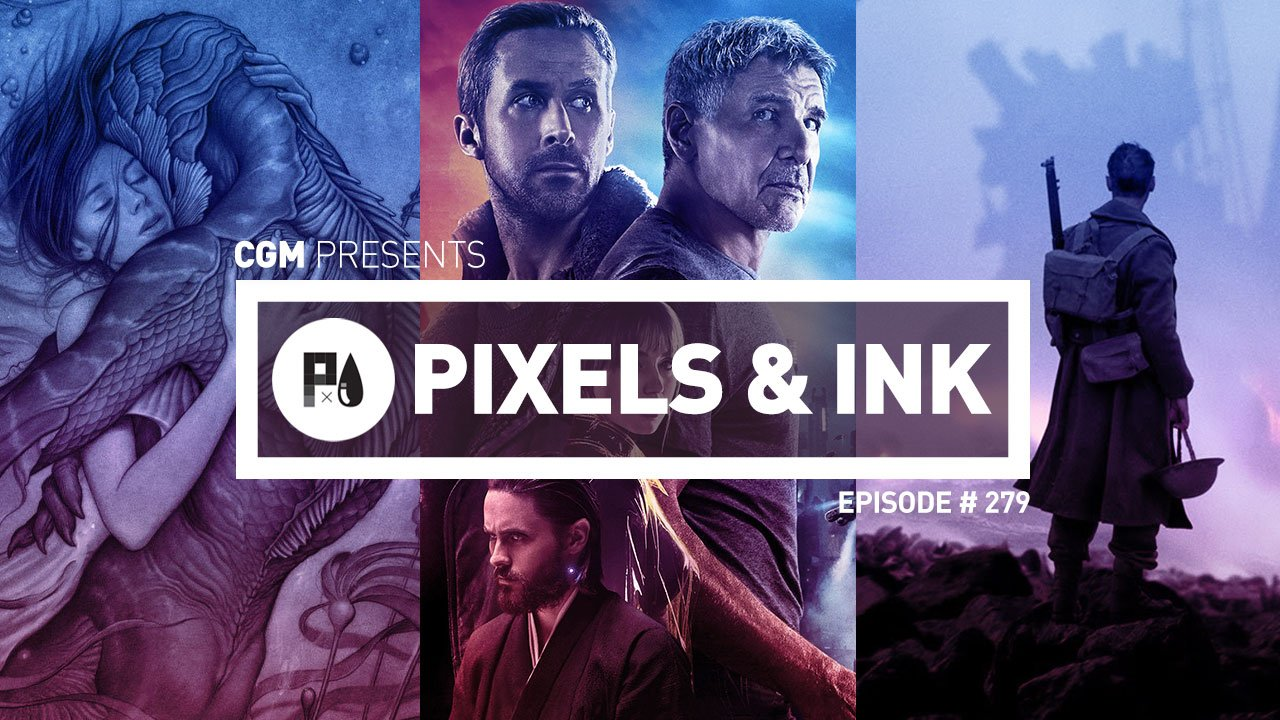 Pixels & Ink Podcast: Episode 279 - CGMagazine's 1st Annual Movie of the Year Cast!