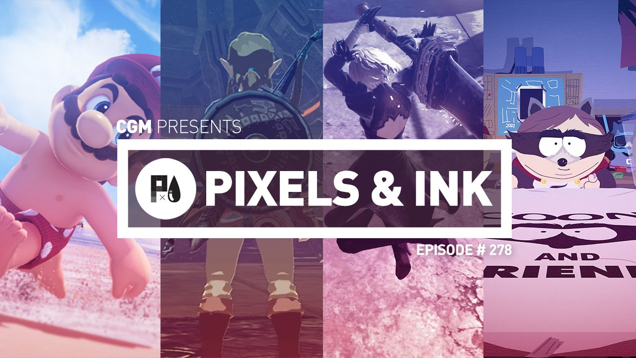 Pixles & Ink: Episode 278 - CGMagazine's 7th Annual GOTY-Cast!