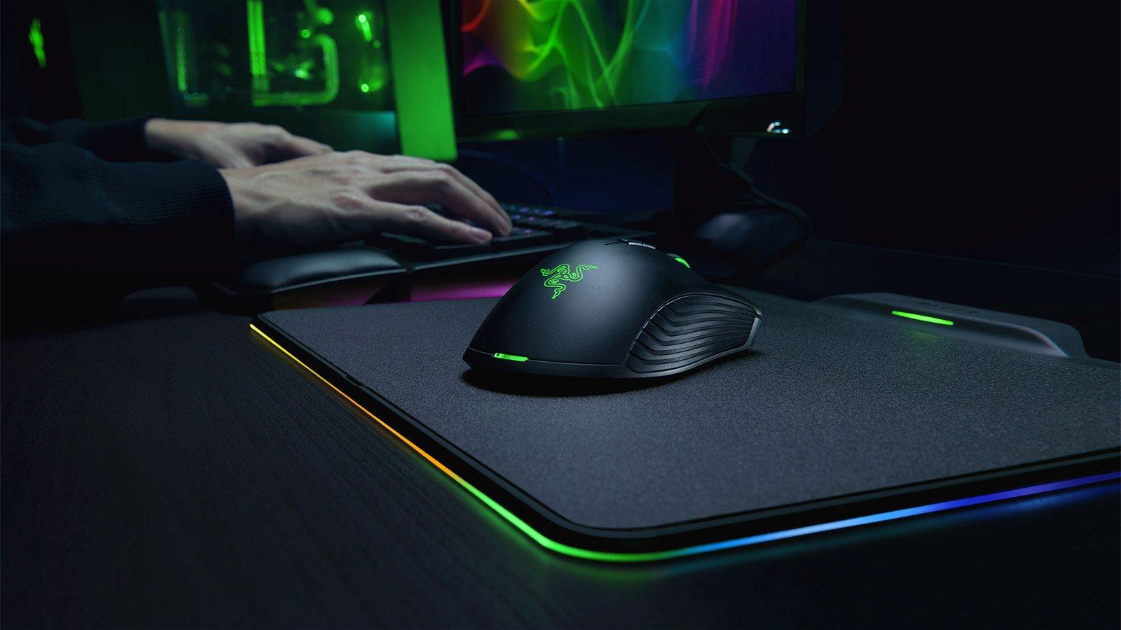 Razer Announce Razer Mamba HyperFlux Wireless Mouse and Pad