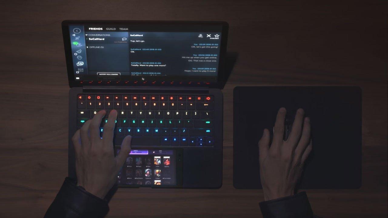 Razer Unveils Android/Laptop Hybrid Concept, Project Linda 3