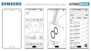 Samsung Files Patent for Phone with Edge to Edge Display