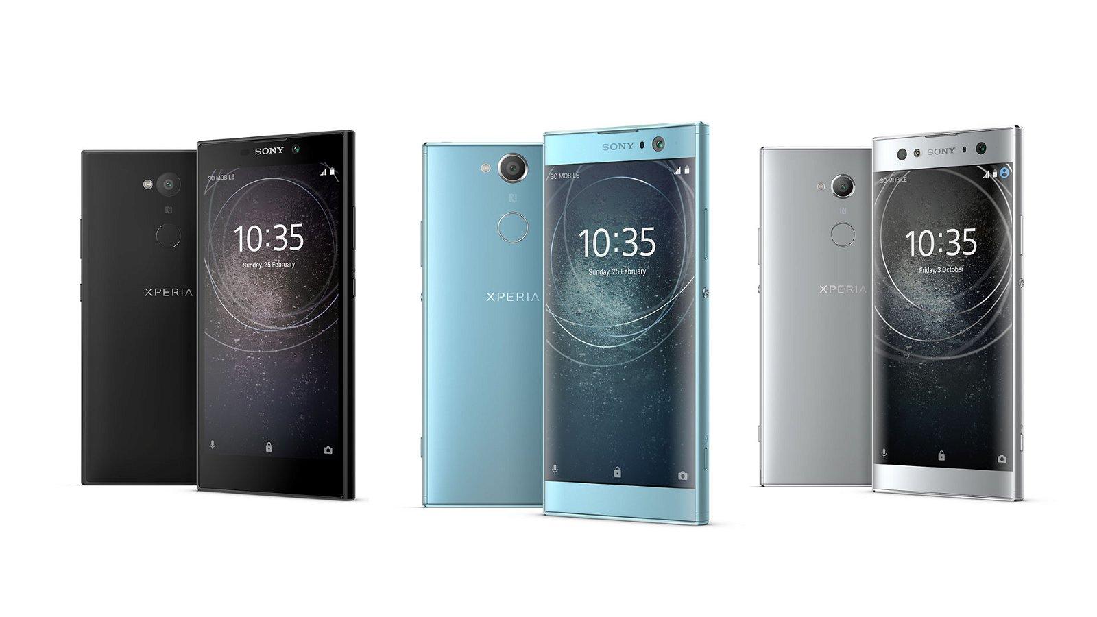 Sony Reveals Three New Smartphones