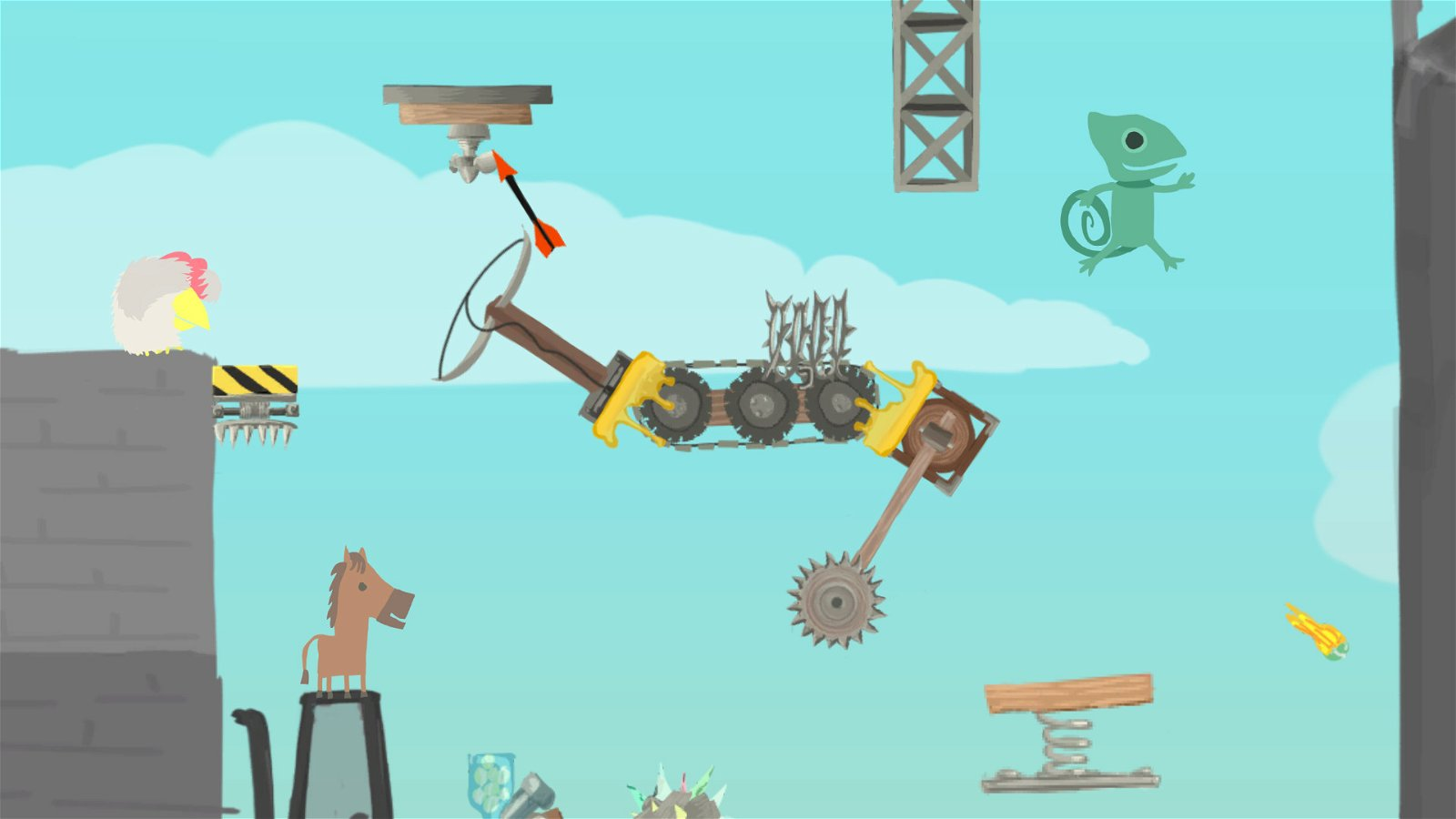 Ultimate Chicken Horse (Ps4) Review: Frenetic Multiplayer Craziness! 5
