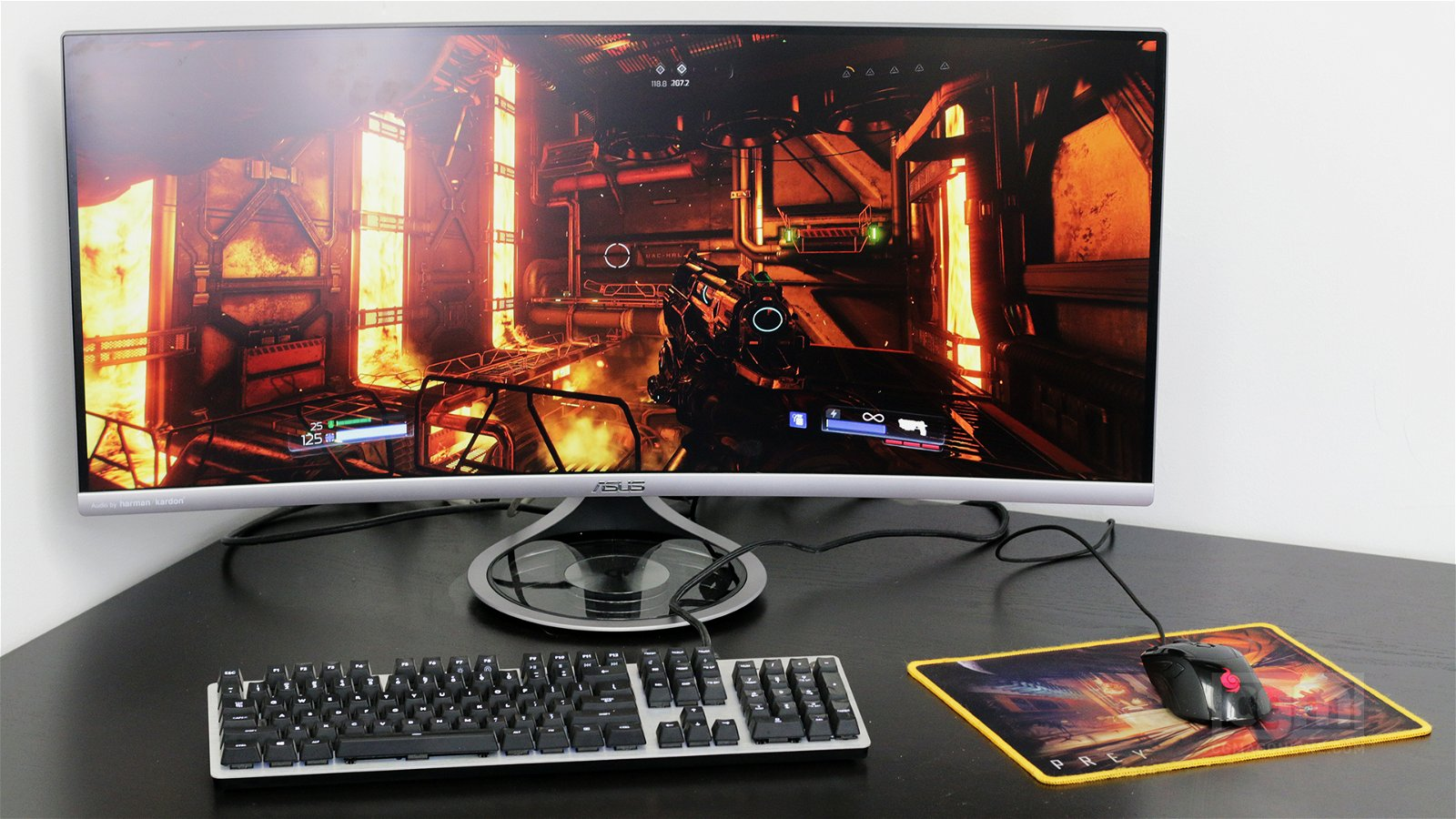 Asus Designo MX34VQ Curved Monitor Review 4