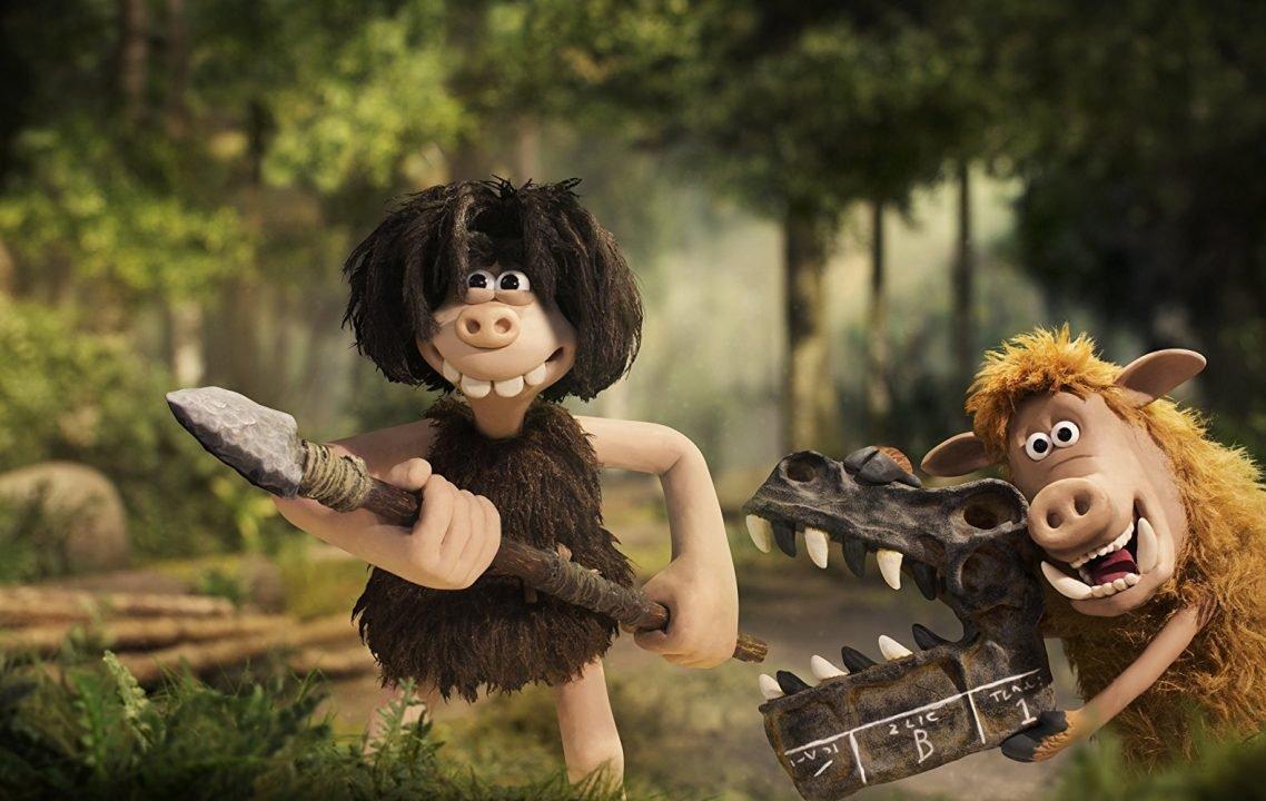 Early Man (Movie) Review - Claymation Caveman Shinanegins 1
