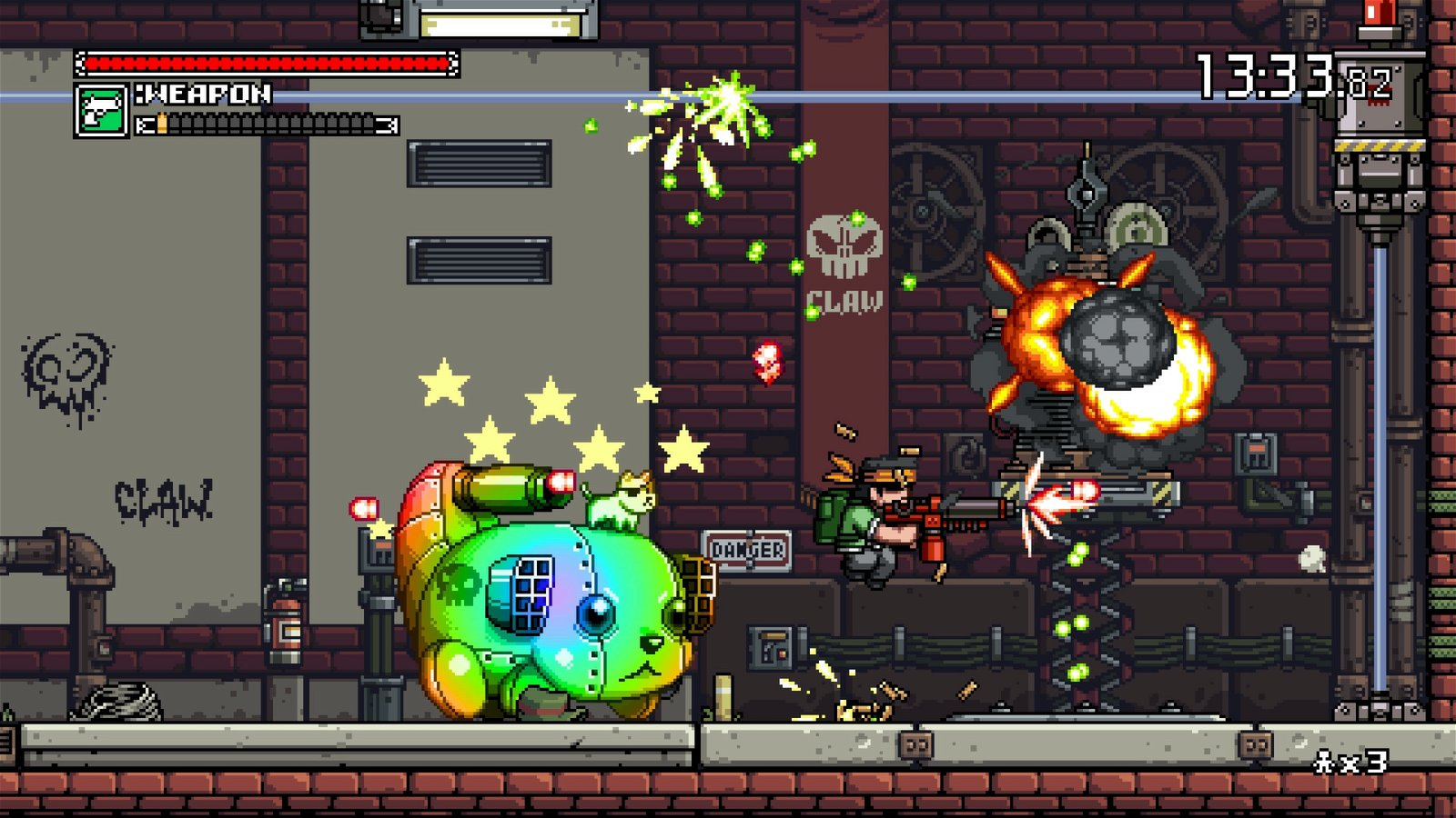 Mercenary Kings Reloaded (Switch) Review: Re-Imagined Greatness 3