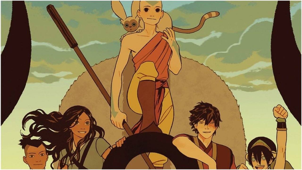 New Avatar The Last Airbender Graphic Novels Announced 1