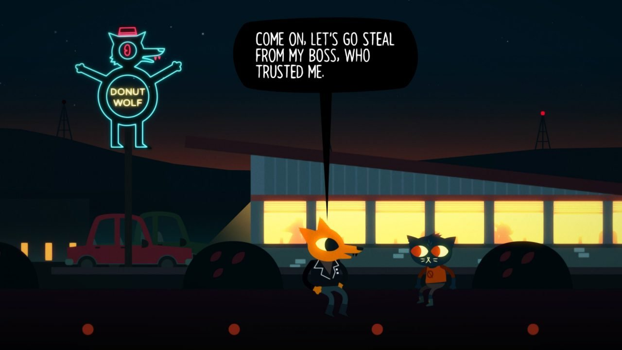 Night In The Woods (Switch) Review: Small Town Blues 3