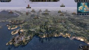 The British Isles are the Most Detailed Map to Date in Total War Saga: Thrones of Britannia 5