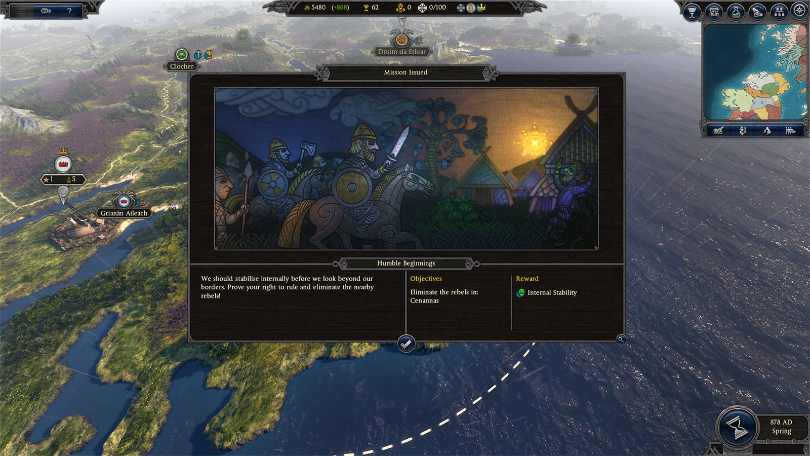 The British Isles are the Most Detailed Map to Date in Total War Saga: Thrones of Britannia