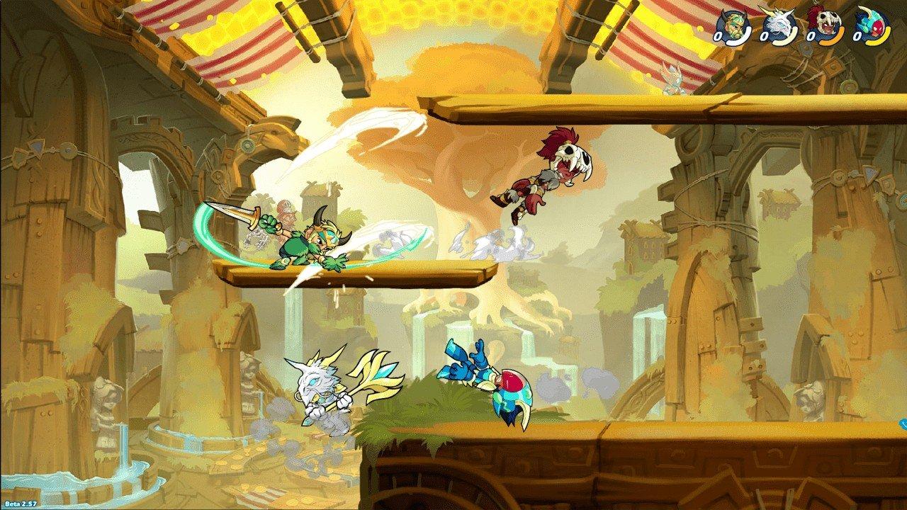Ubisoft Buys Brawlhalla Developer Blue Mammoth Games