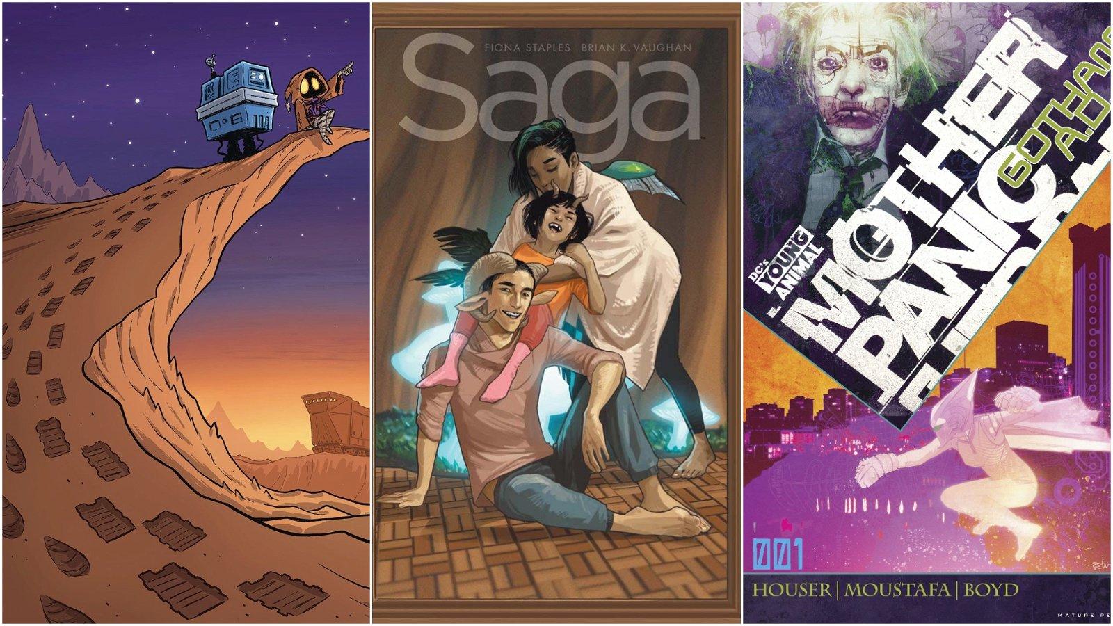 Best Comics to Buy This Week: Saga Celebrates Issue #50