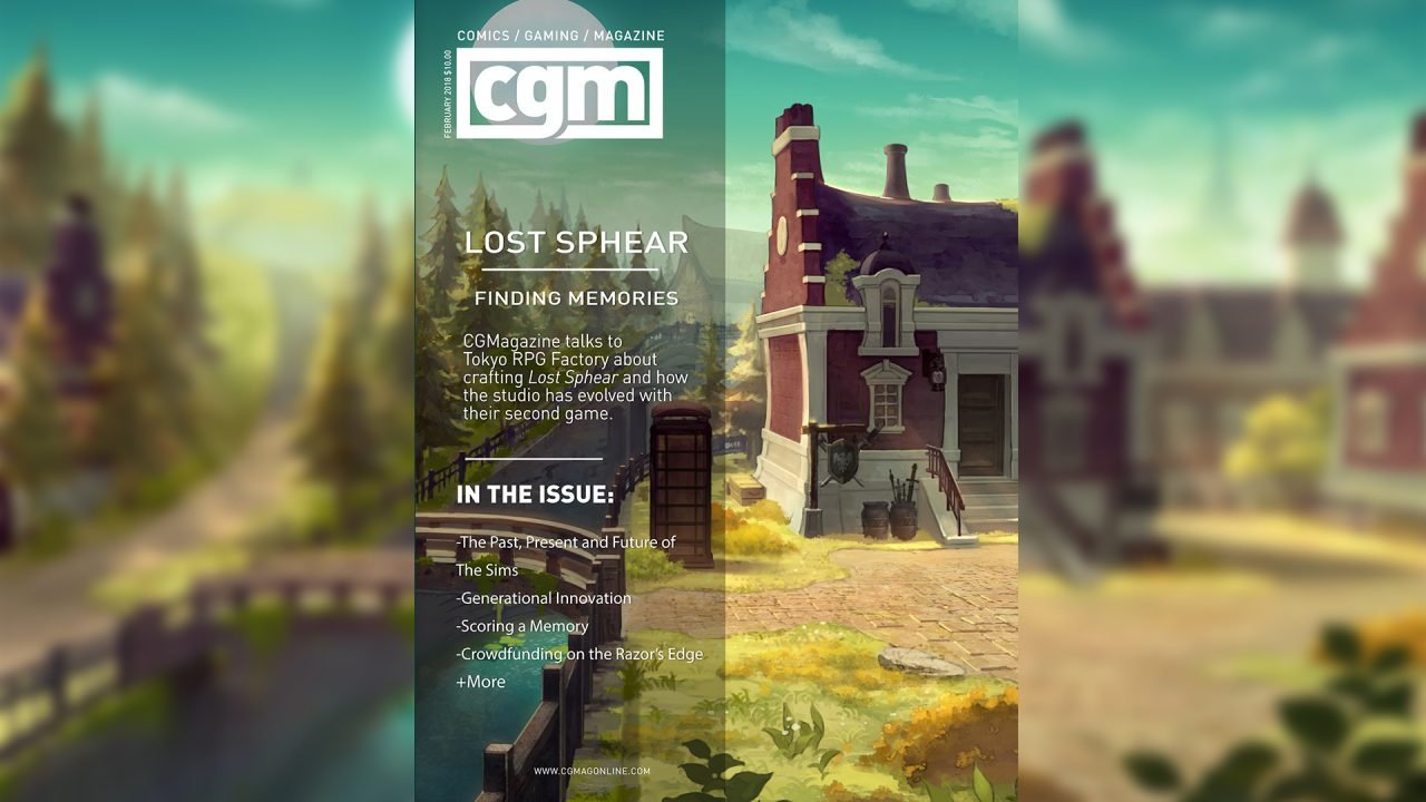 CGMagazine February 2018: Exploring the World of Lost Sphere