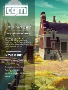 CGMagazine February 2018: Exploring the World of Lost Sphere 1