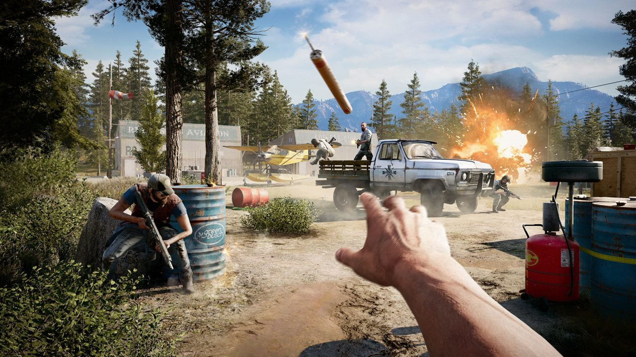 far cry 5 ps4 review. Black Bedroom Furniture Sets. Home Design Ideas