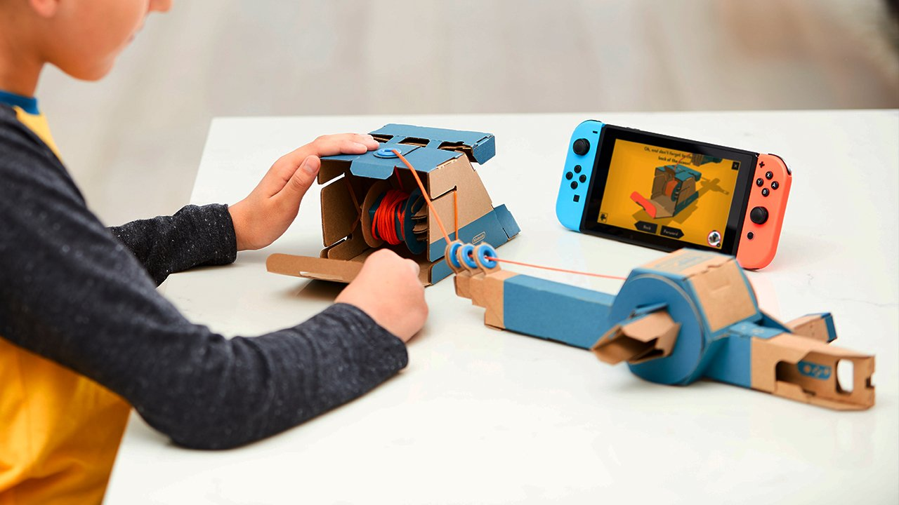 Game Outside of the Box with Nintendo Labo 9
